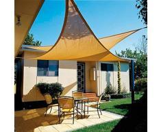 Papillon 8091181 Toldo Vela Sombra Jardin Triangular 5x5x5 Metros Beige