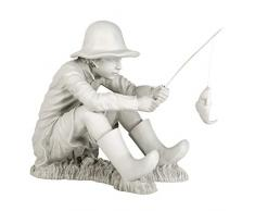 Design Toscano by Blagdon EU9288 - Figura Decorativa (Resina), diseño de Pescador