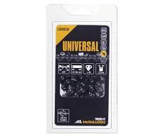 Universal GM577615120 CHO020 Cadena de sierra para motosierra, 14/35cm 3/8 49p, optimo afilado, mantenimiento sencillo, accesorios McCulloch, Standard
