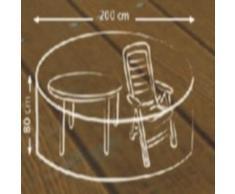 beo 980678 funda deLuxe para mesas y sillas 200 cm redondo