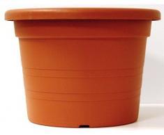 Veca - Maceta cilindro 20x14h cm terracota