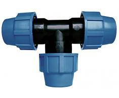 Cornat Sistema de Riego T de Tubos de PE de Unidades, 20 mm de diámetro, Polipropileno, para Agua fría