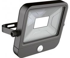 Ryme Automotive - Proyector Exterior con Foco Led y Sensor de Movimiento. Fijo - 30W