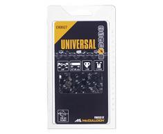 Universal 577615127 Cadena de sierra para motosierra, 16/40cm 3/8 56p, optimo afilado, mantenimiento sencillo, accesorios McCulloch, Negro, 16/41cm