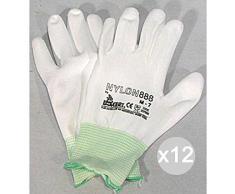 Haba 304510 Terra Kids transparente Guantes de trabajo infantiles talla 5,5, con botones de l/átex