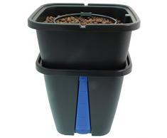 PLANT IT 01-060-055 - Sistemas de riego y mangueras del Sistema géminis, Enchufe de la UE, Azules