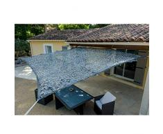 WerkaPro 10105 - Toldo calado de poliéster rectangular para balcón, terraza y jardín