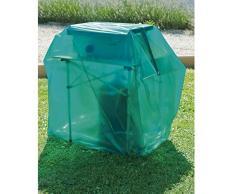 Maillesac JP0009-Funda para Barbacoa de Gas, plástico, Color Verde translúcido