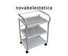 Novabel Carro de 3 estantes para accesorios estética-depilación...