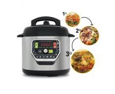 Olla Programable Gm Modelo G. Robot De Cocina Programable Multifunción Que Cocina Por Ti. Funciona Con O Sin Presión De Hasta 90