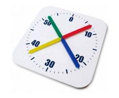 Reloj Cronómetro Pared Piscina