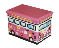 Organizador de juguetes Love Bus 40x25x25cm