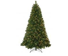 Item International Arbol Navidad Pvc Metal 450 Luces 1219 Ramas