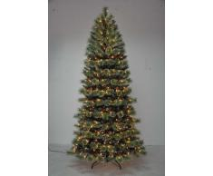 Item International Arbol Navidad Pvc Metal 450 Leds 635 Ramas