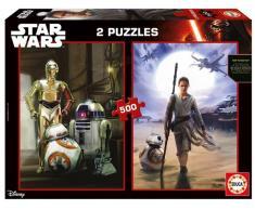 Educa Puzzle Star Wars 2x500 Piezas