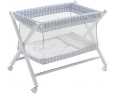 Interbaby Minicuna Transparente Conejito Baby Azul (Azul)