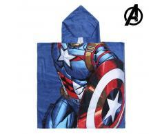 Poncho-Toalla con Capucha Captain America The Avengers 74171