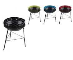 BBQ Collection Barbacoa Acero Colores + Soporte 33x43cm