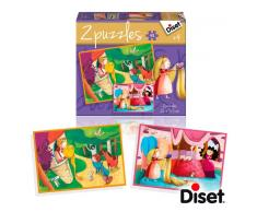 Diset Puzzle Cuento 2 X 48 Rapunzel