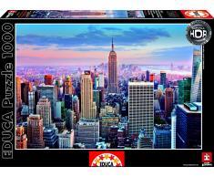 Educa Puzzle Manhattan, Nueva York 1000 Piezas HDR