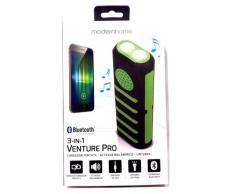 Altavoz Bluetooth con linterna y power bank