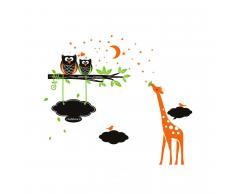 Pizarra de vinilo Mini Zoo 120 x 203 cm