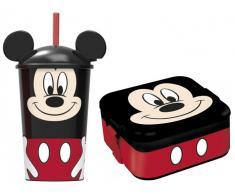 Pack Mickey Vaso + Fiambrera