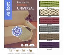 Bcn Beding Funda sofa universal verde 2 Plaza 130 X 185 cm