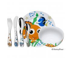 Vajilla para niños WMF Buscando a Nemo (plato, cuenco y cubertería)
