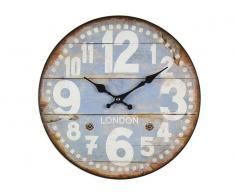 Reloj Vintage Evol 33cm Azul