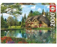 Educa Puzzle La Casa Del Lago 2000 Piezas