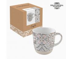 Taza Porcelana Mosaico