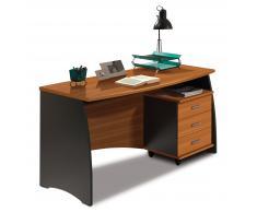 Mesa para escritorio con 3 cajones