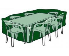 Altadex Funda poliéster (240 gr.) cubre mesas y sillas circular Ø205 / 90 cm altura