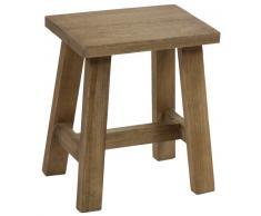 Wellindal Taburete de madera finn