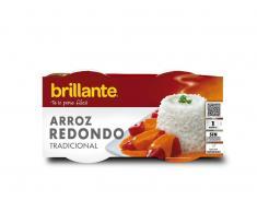 Brillante Arroz Redondo Microondas Duopack (2x125g)