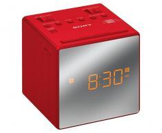 Radiodespertador Sony Rojo ICFC1TR