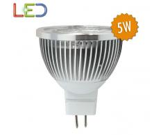 Bombilla LED MR16C45 5W Luz Blanca 6000k
