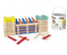Cubo 200 blocs madera apilables +24m