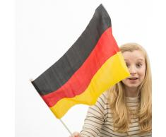 Bandera de Alemania con Asta Th3 Party (46 x 30 cm)