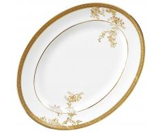 Wedgwood Fuente Oval 35 Cm Lacegold-3001