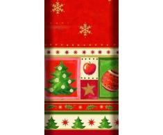 "Papstar Mantel Airlaid ""Navidad"" 120x180cm (aspecto tela)"