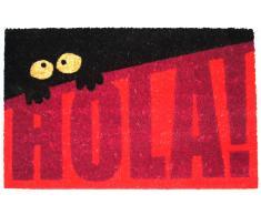 Koko Doormats Felpudo Hola! - Rojo