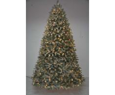 Item International Arbol Navidad Pvc Metal 450 Leds 1838 Ramas