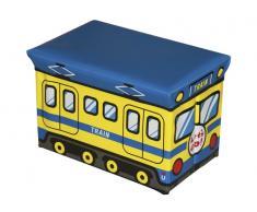 Organizador de juguetes Tren 40x25x25cm
