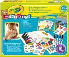 Crayola Mi Primer Set De Colorear Y De Pegatinas