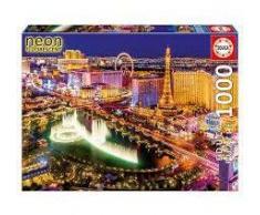 Educa Puzzle Las Vegas Neón 1000 Piezas