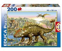 Educa Puzzle Dinosaurios 200 Piezas