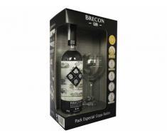 Pack Gin Brecon Special Edition 43º 0.7 L + Copa Balón Serigrafiada
