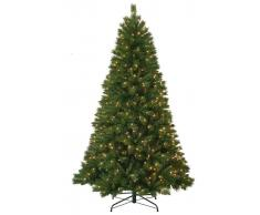Item International Arbol Navidad Pvc Metal 200 Luces 475 Ramas
